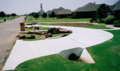 Bills Custom Concrete Circle Driveway