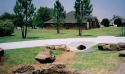 Bills Custom Concrete Driveway Drainage