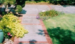 Bills Custom Concrete Decorative Sidewalk