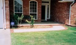 Sidewalk Front Porch