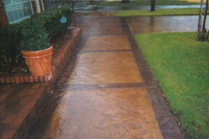 Decorative Concrete in Oklahoma City Oklahoma