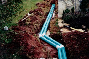 Yard Drainage in Del City Oklahoma
