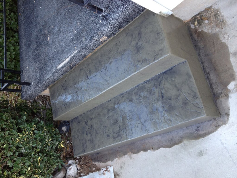Decorative Concrete Steps Oklahoma