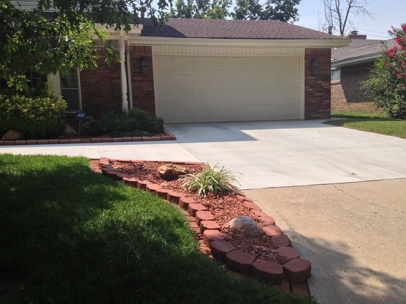 New Concrete Driveway  in Oklahoma City