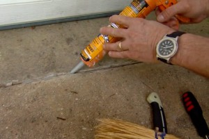 Sealing Concrete Cracks