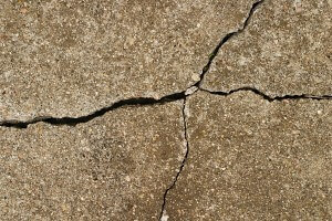 Cracked Concrete in Del City, OK
