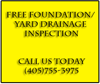 Free Foundation / Yard Drainage Inspection