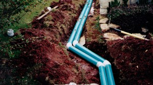 Residential Drainage System in Edmond, Oklahoma