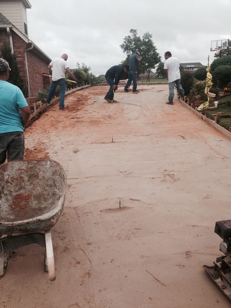 Concrete Driveway Installation and Preparation Oklahoma City