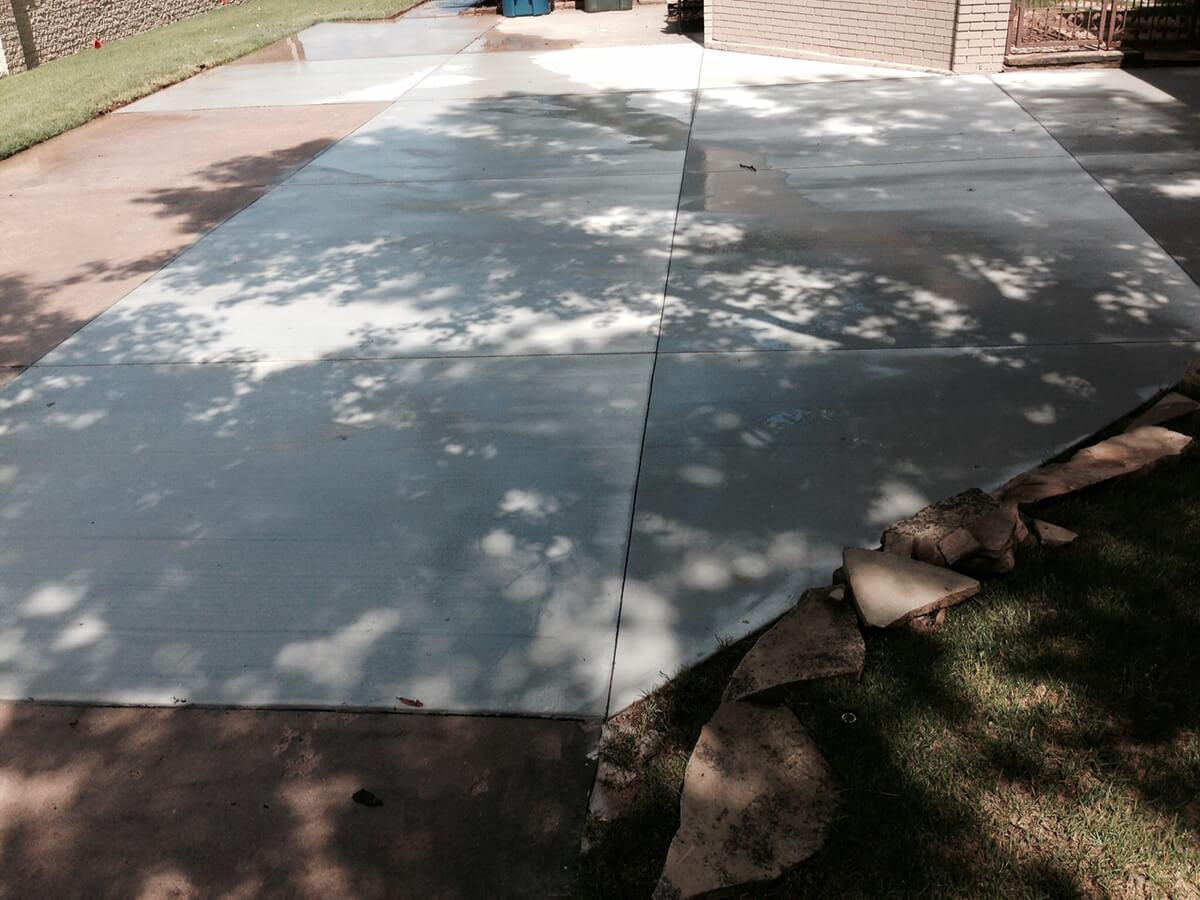 Concrete Patio Oklahoma City OK