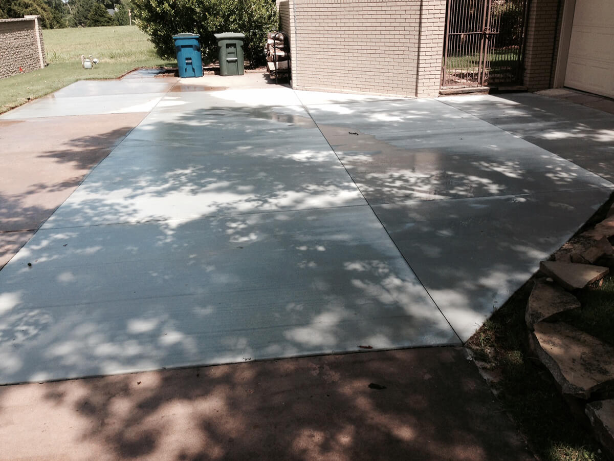 Concrete Patio Oklahoma City