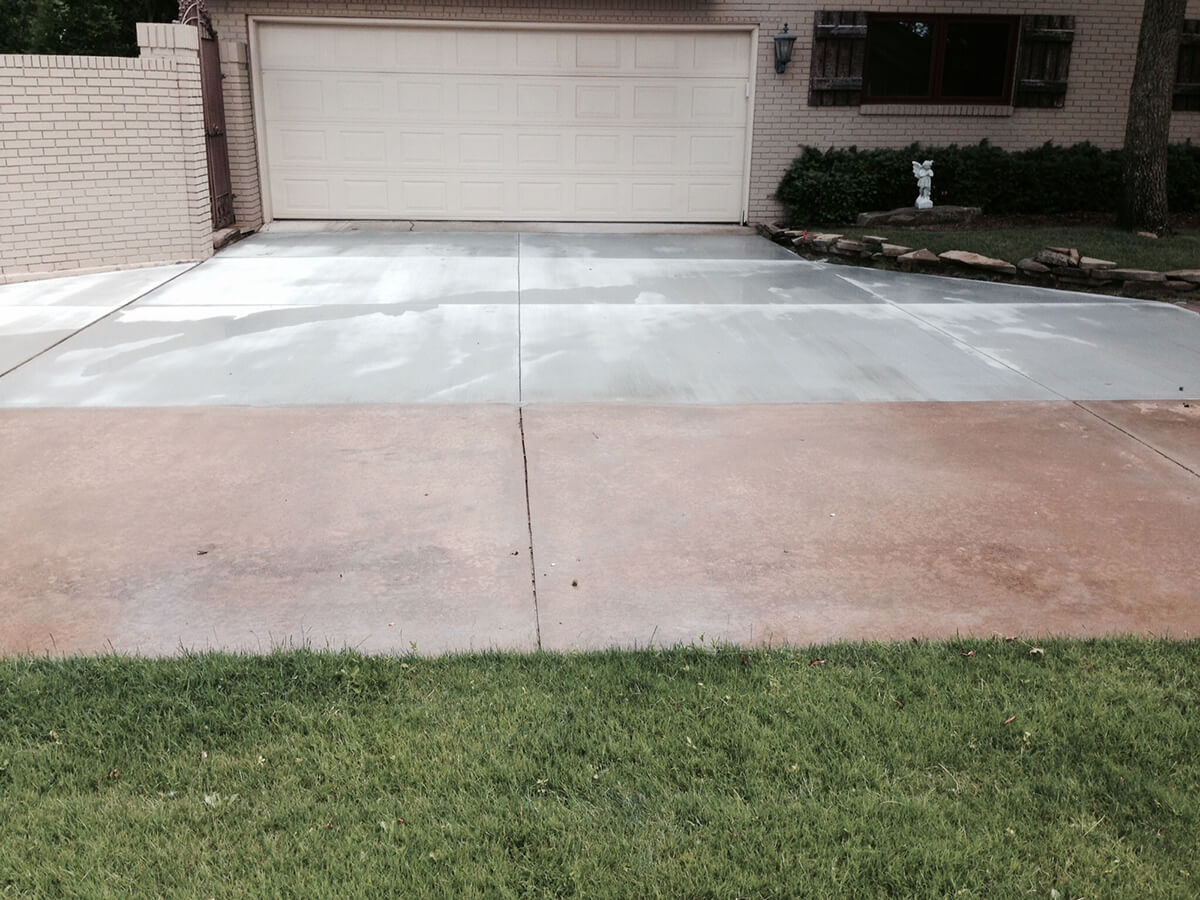 More photos bill 39 s custom concrete oklahoma city 39 s for New concrete driveway