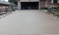 New Concrete Driveway Oklahoma City