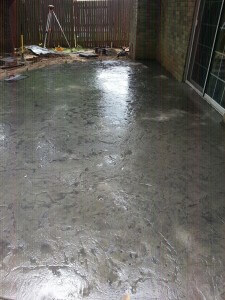 New Decorative Concrete Patio in Oklahoma City