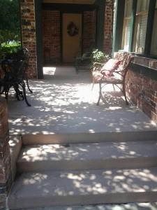 Concrete Patio Edmond Oklahoma