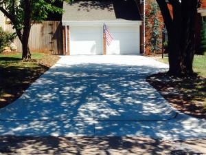 New Concrete Driveway Edmond OK