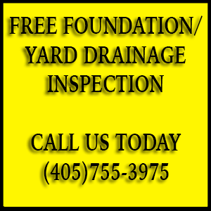 Free Foundation Yard Drainage Inspection
