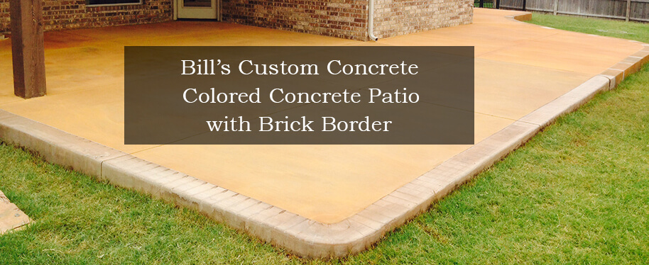 Bill\'s Custom Concrete OKC | Best Concrete Contractor and Yard Drain ...
