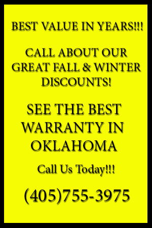 Bill's Custom Concrete Fall and Winter Specials