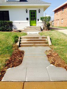 Concrete Sidewalk and Steps Oklahoma City