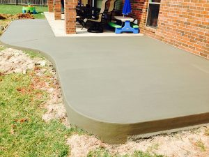 Cement Patio Mustang OK