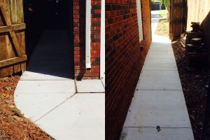 Cement Sidewalks Edmond Oklahoma