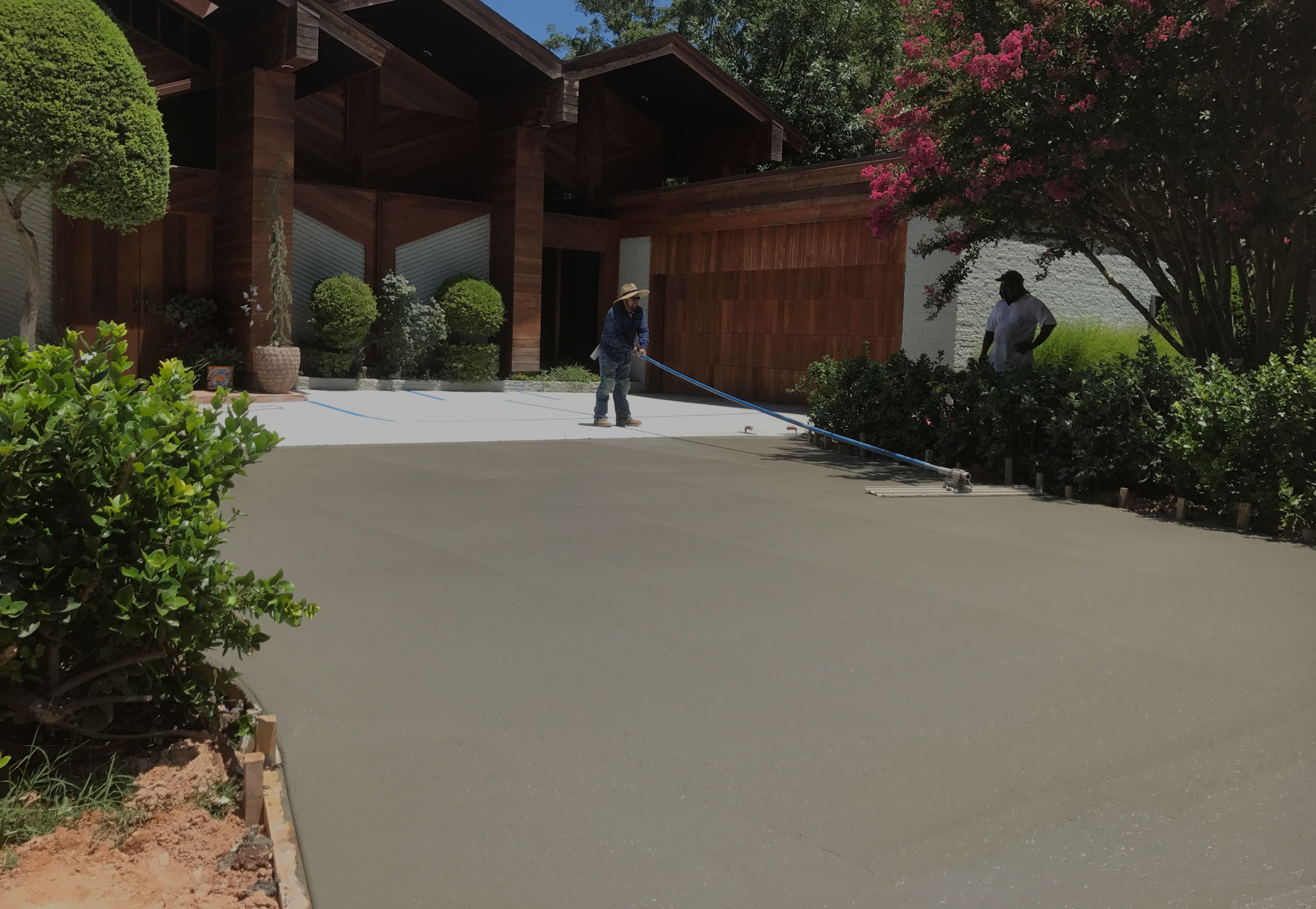 Concrete Contractors Oklahoma City - Bill's Custom Concrete